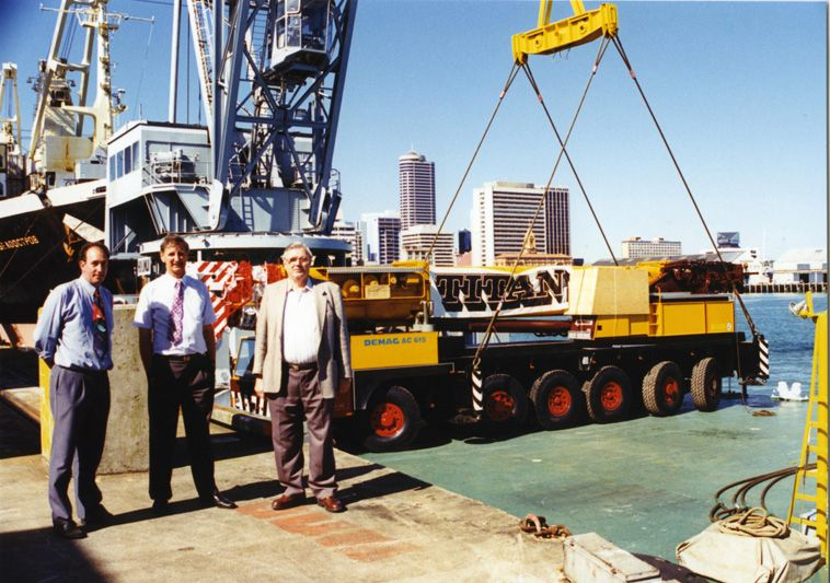 Mobile Crane Operator Jobs New Zealand : Titan cranes new zealand history